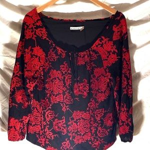 Alice + Olivia Tops - Gorgeous Alice and Olivia peasant blouse